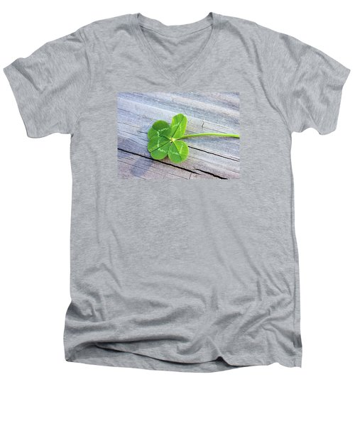 Lucky Men's V-Neck T-Shirt