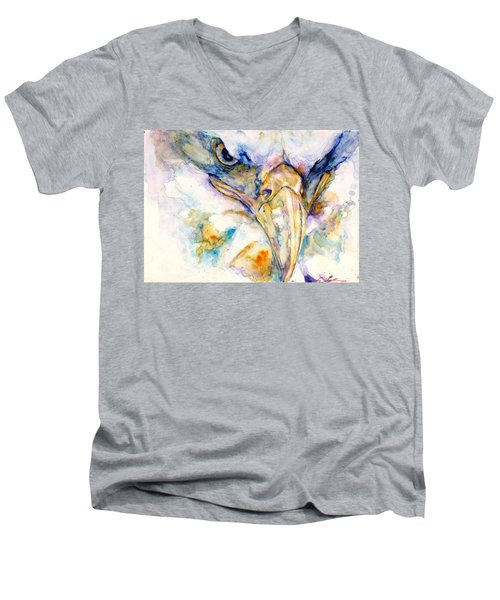 Marie's Eagle Men's V-Neck T-Shirt