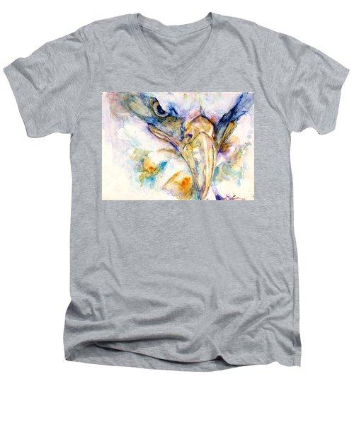 Marie's Eagle Men's V-Neck T-Shirt