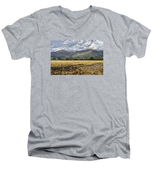 Ochil Hills Men's V-Neck T-Shirt