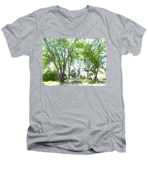 Ponce, Urban Ecological Park Men's V-Neck T-Shirt