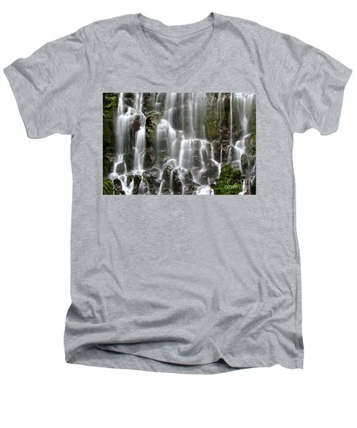 Ramona Falls Men's V-Neck T-Shirt