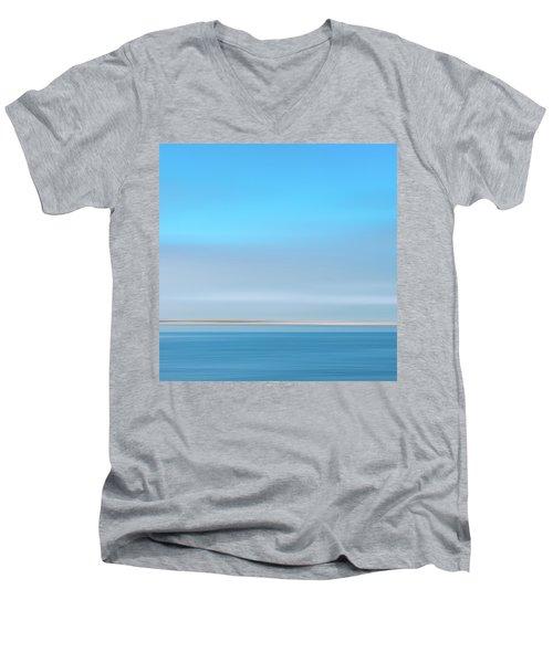 Sandy Neck 3 Men's V-Neck T-Shirt