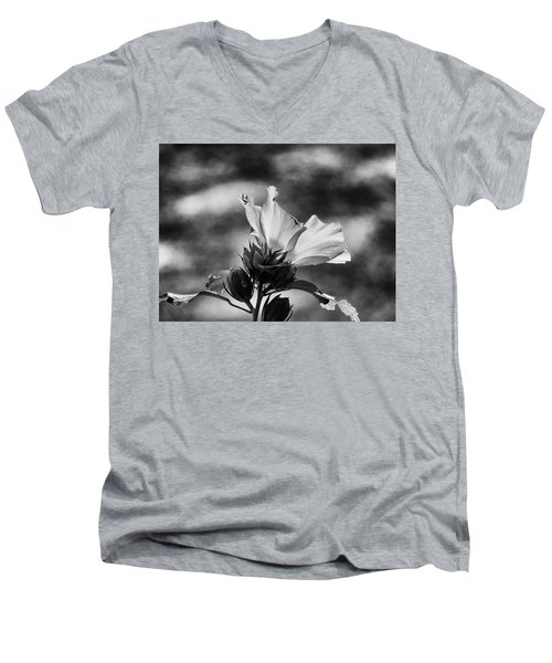 Men's V-Neck T-Shirt featuring the photograph Seasons by Allen Beilschmidt
