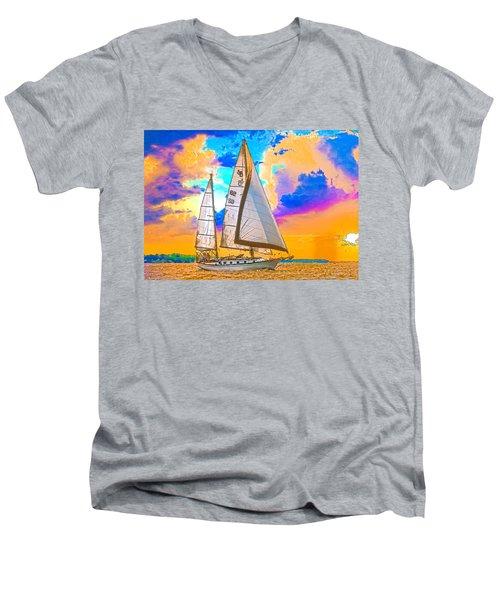 Shannon 38 Men's V-Neck T-Shirt