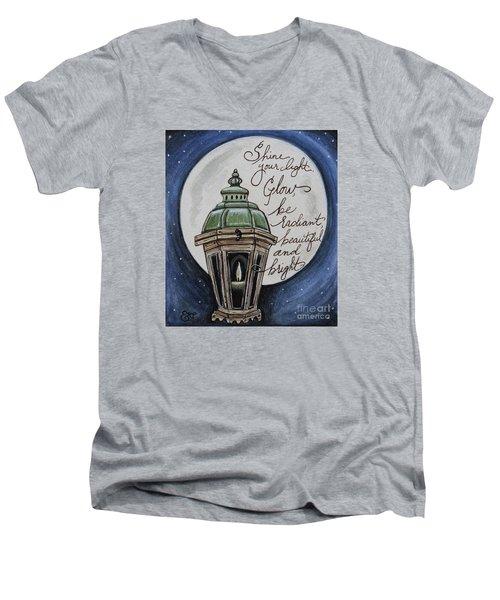 Shine Your Light Men's V-Neck T-Shirt