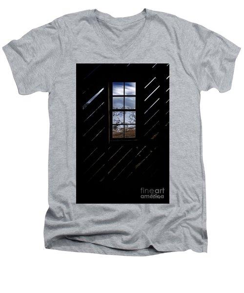Sound Democrat Mill Men's V-Neck T-Shirt