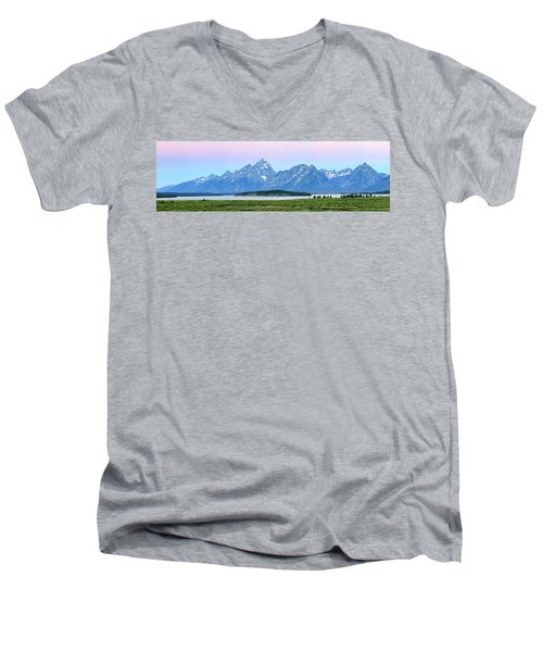 Spotless Sunrise Men's V-Neck T-Shirt