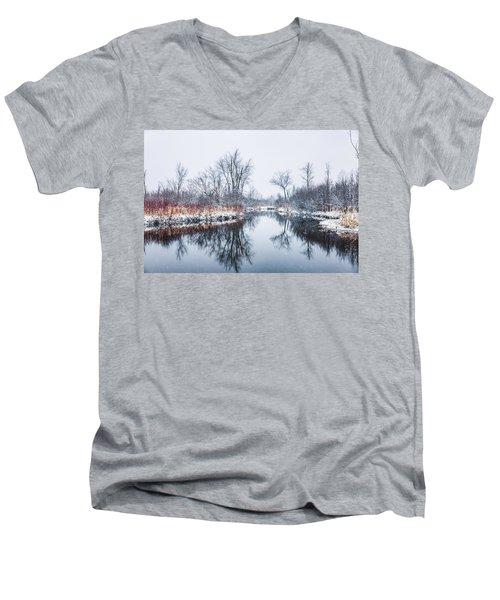 Spring Snow Men's V-Neck T-Shirt