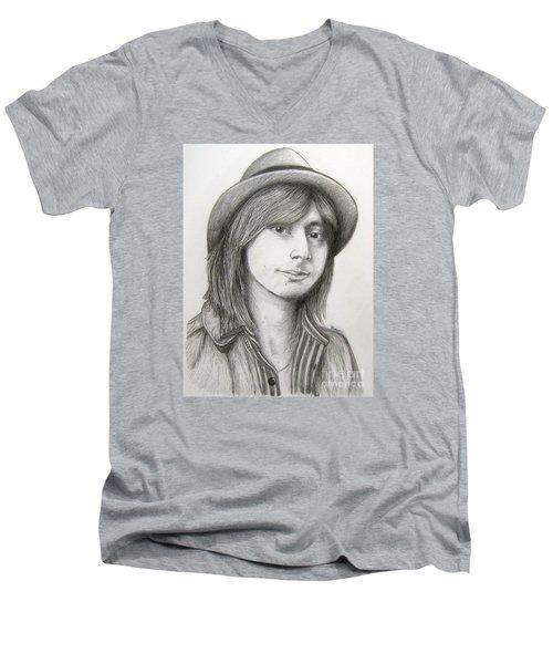 Steve Perry Men's V-Neck T-Shirt