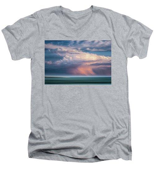 Storm On The Sound Men's V-Neck T-Shirt