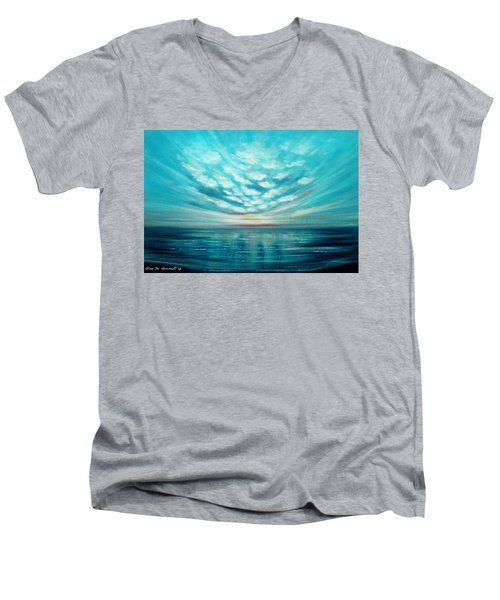 Sunset Quest Men's V-Neck T-Shirt