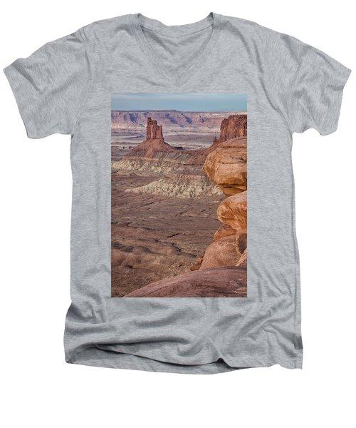 The Candlesticks I Men's V-Neck T-Shirt