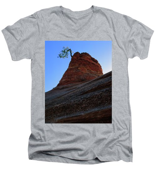 Tree Hoodoo Men's V-Neck T-Shirt