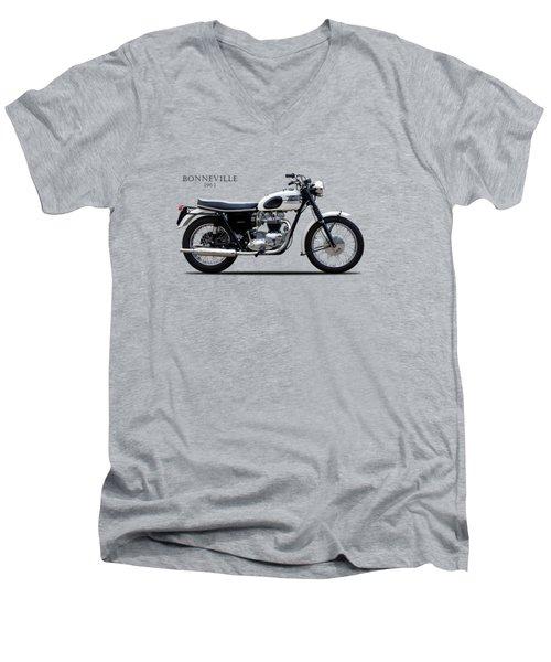 Triumph Bonneville 1963 Men's V-Neck T-Shirt