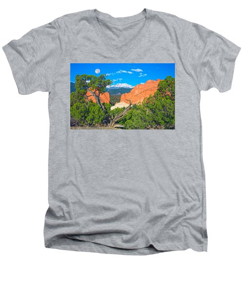 Typical Colorado  Men's V-Neck T-Shirt by Bijan Pirnia