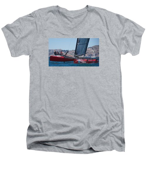 Upwind Spray Men's V-Neck T-Shirt