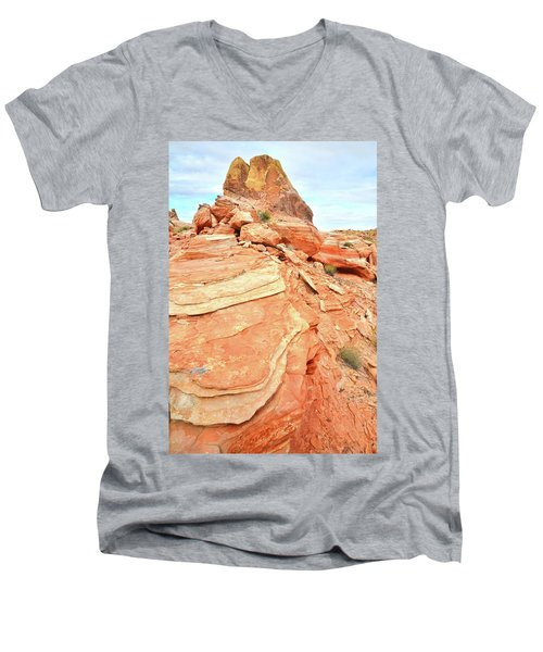 Valley Of Fire High Country Men's V-Neck T-Shirt