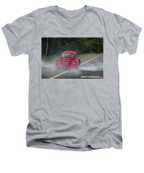 Volkswagen Beetle Men's V-Neck T-Shirt