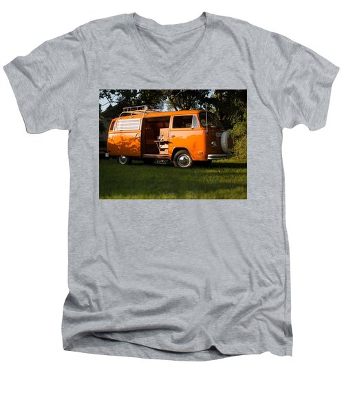Volkswagen Bus T2 Westfalia Men's V-Neck T-Shirt