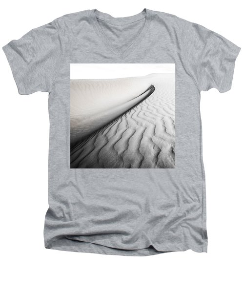 Wave Theory Vi Men's V-Neck T-Shirt by Ryan Weddle