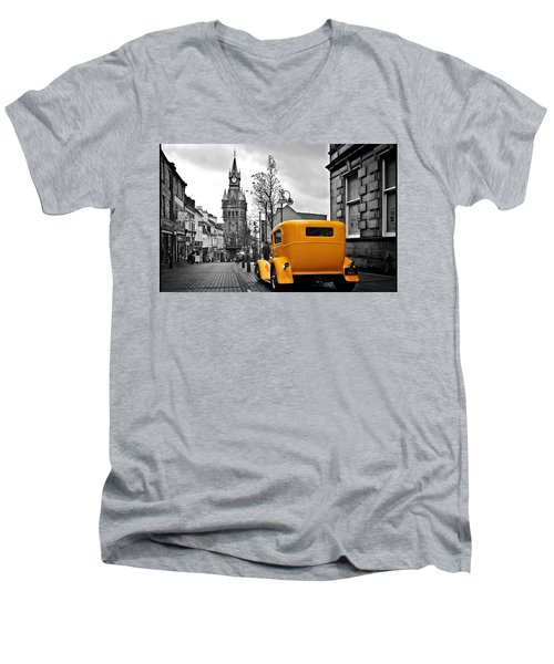 Classic Men's V-Neck T-Shirt