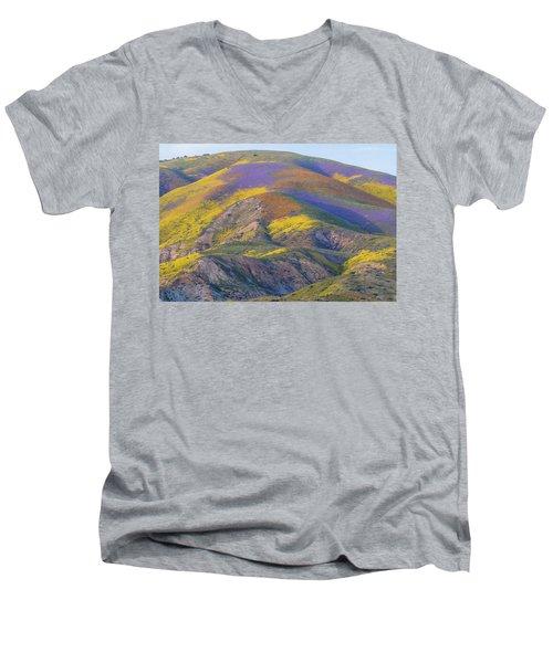 2017 Carrizo Plain Super Bloom Men's V-Neck T-Shirt