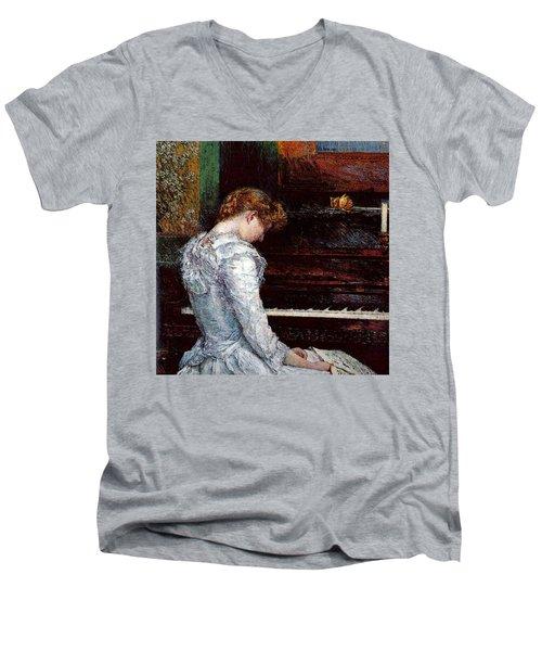 Hassam Men's V-Neck T-Shirt
