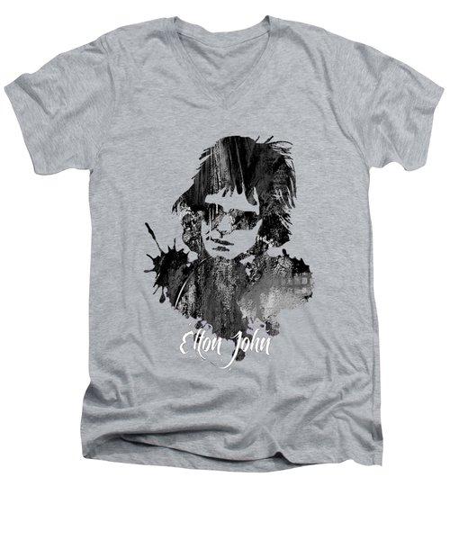 Elton John Collection Men's V-Neck T-Shirt