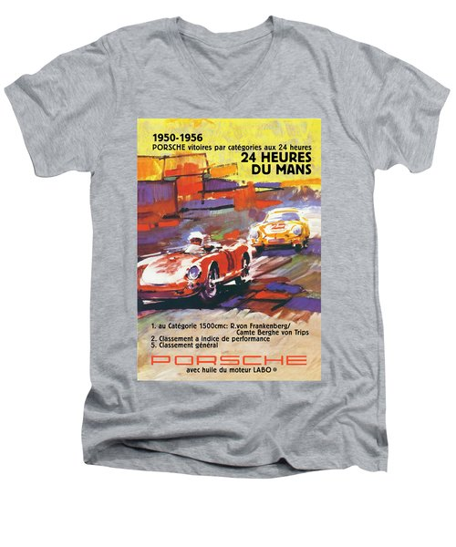 24 Hours Of Le Mans Men's V-Neck T-Shirt
