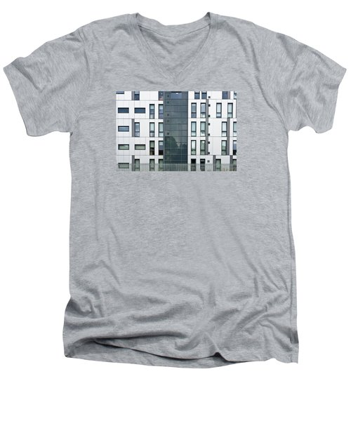 Modern Building Men's V-Neck T-Shirt