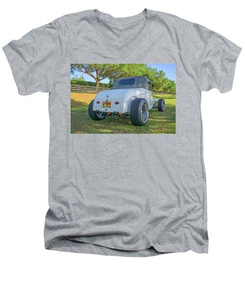 29 Steel Body Men's V-Neck T-Shirt
