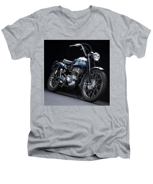 1949 Triumph Trophy Men's V-Neck T-Shirt