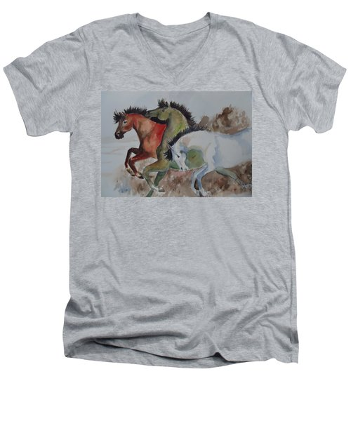 3 Amigos Men's V-Neck T-Shirt
