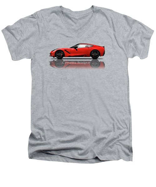 Chevrolet Corvette Stingray Men's V-Neck T-Shirt