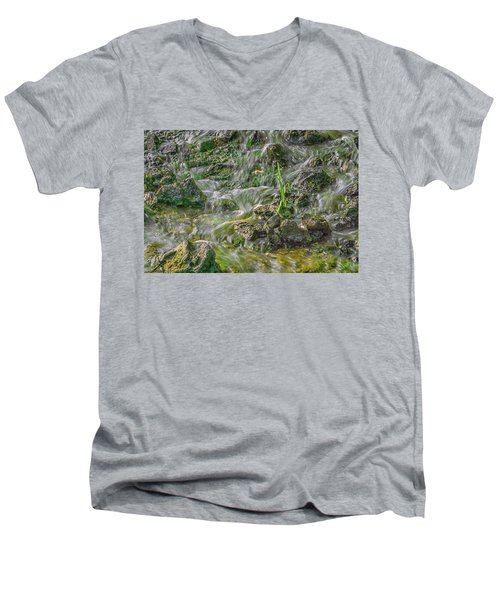 Falling Water Men's V-Neck T-Shirt