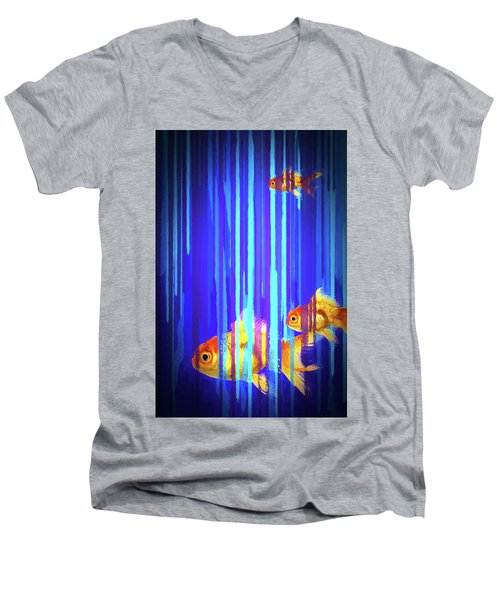 3 Fish Men's V-Neck T-Shirt