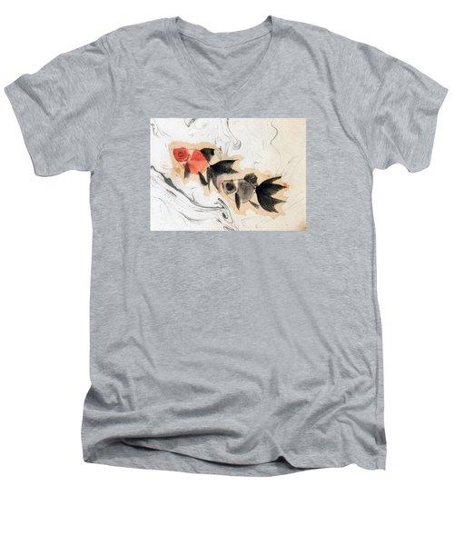 Floating 12030005 2fy Men's V-Neck T-Shirt