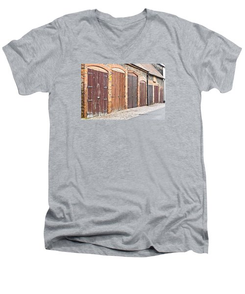Garage Doors Men's V-Neck T-Shirt
