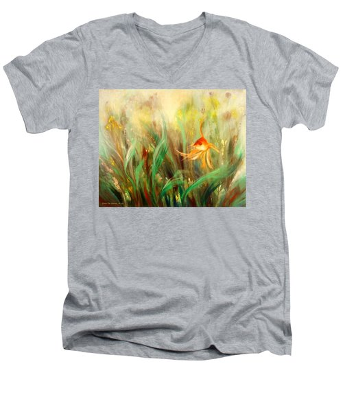 Gold Fish Men's V-Neck T-Shirt