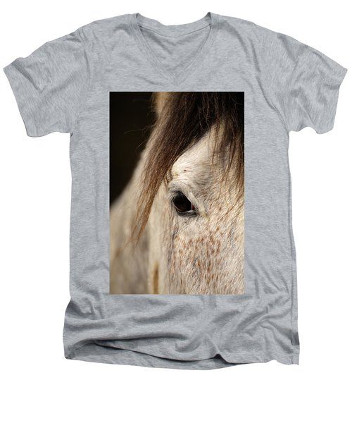Horse Portrait Men's V-Neck T-Shirt