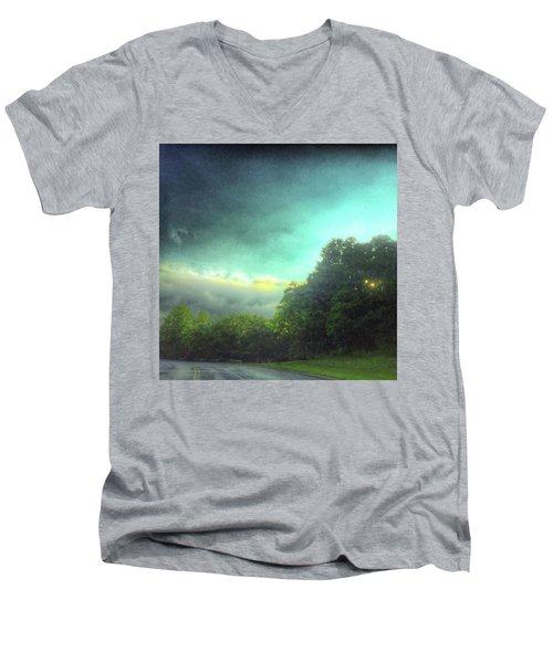 3 June 16 Men's V-Neck T-Shirt