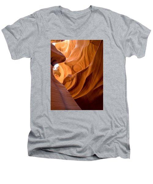 Lower Antelope Canyon Navajo Tribal Park #4 Men's V-Neck T-Shirt