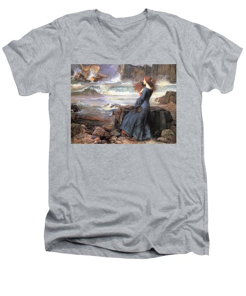 Miranda - The Tempest Men's V-Neck T-Shirt