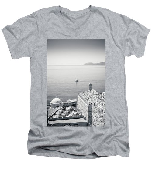 Monemvasia / Greece Men's V-Neck T-Shirt