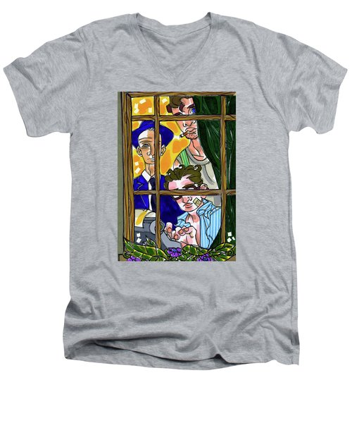 3 Muses Men's V-Neck T-Shirt