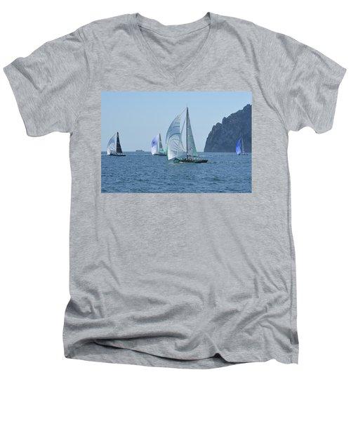 Rolex Capri Sailing Week 2014 Men's V-Neck T-Shirt