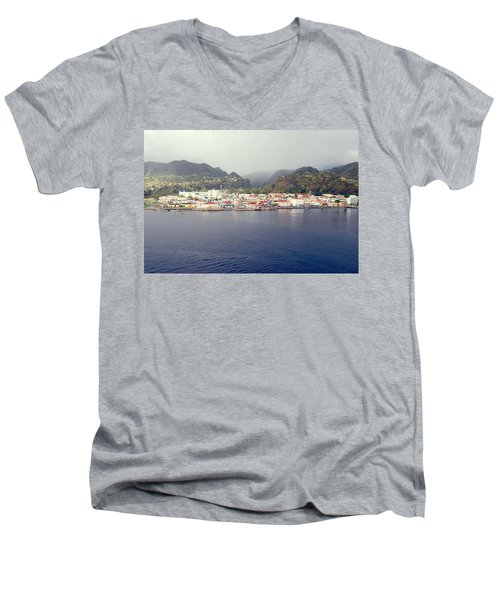 Roseau Dominica Men's V-Neck T-Shirt