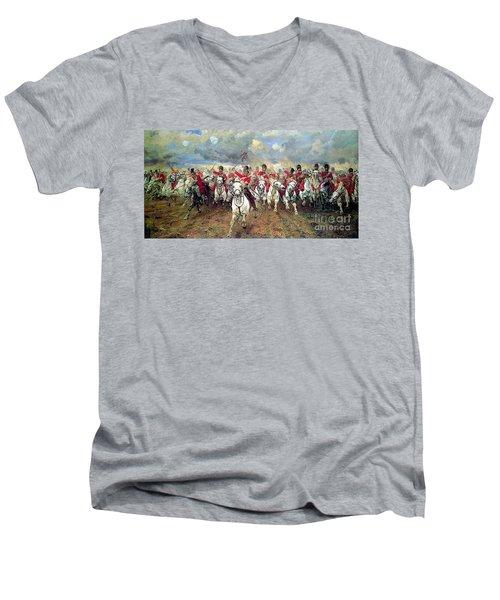 Scotland Forever Men's V-Neck T-Shirt