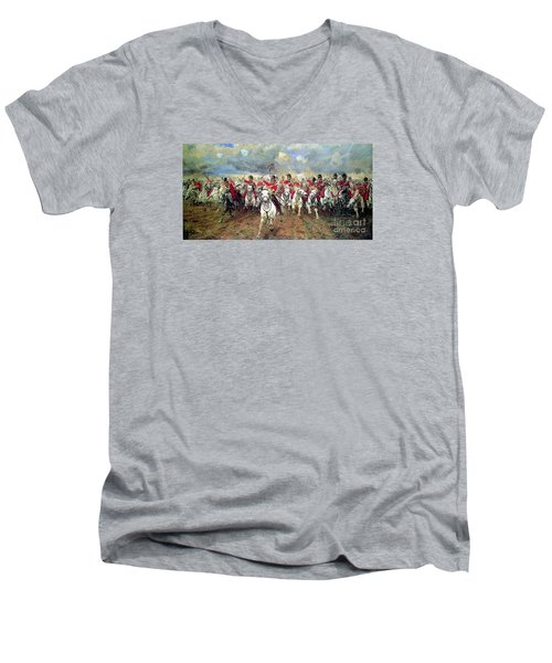 Scotland Forever Men's V-Neck T-Shirt